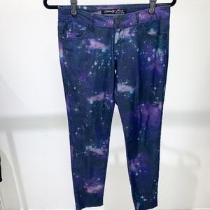 Celebrity Pink Juniors Jeans Size 3 Cosmo Galaxy